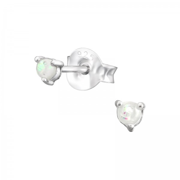 Opal and Semi Precious Ear Studs ES-JB11601-CNOP/38109
