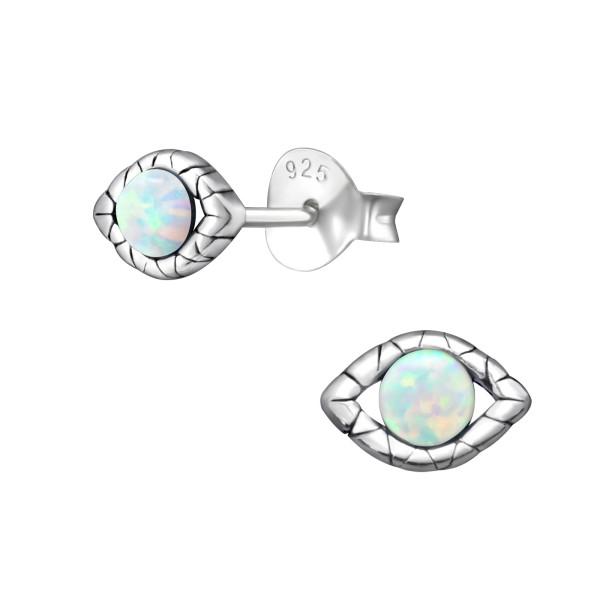Opal and Semi Precious Ear Studs ES-JB7422 OX/23675