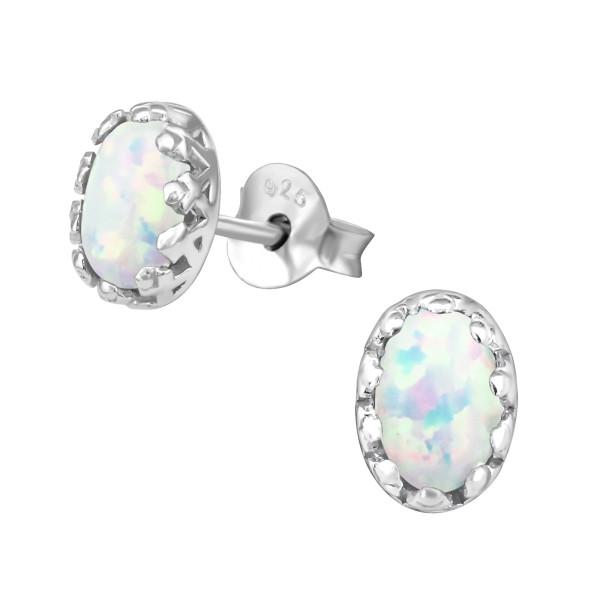 Opal and Semi Precious Ear Studs ES-JB7573 OX/31260