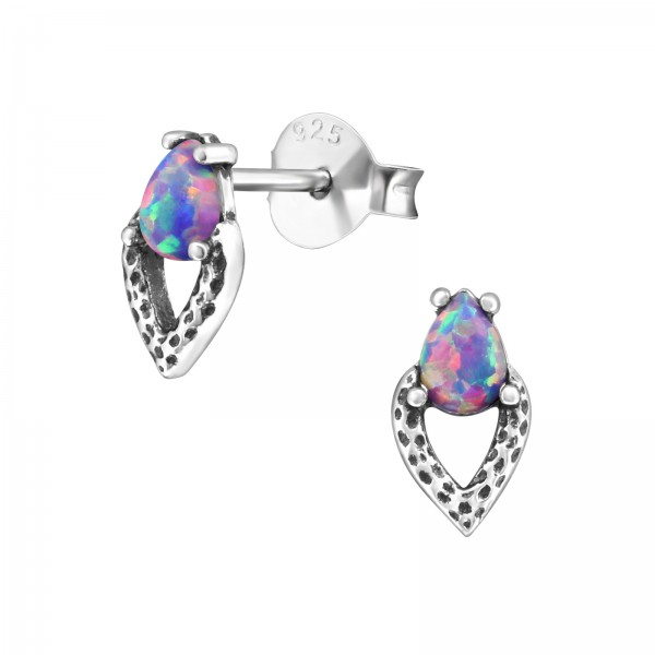 Opal and Semi Precious Ear Studs ES-JB7599 OX/27129