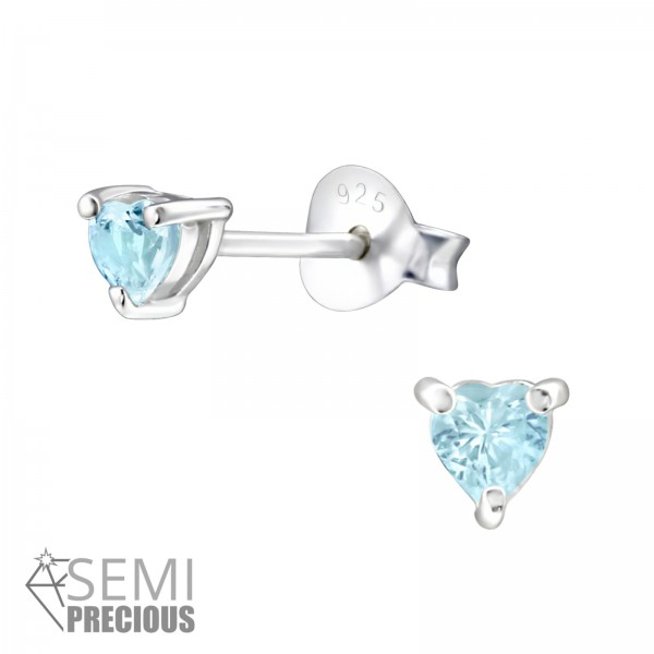 Opal and Semi Precious Ear Studs ESH-3-S/24197