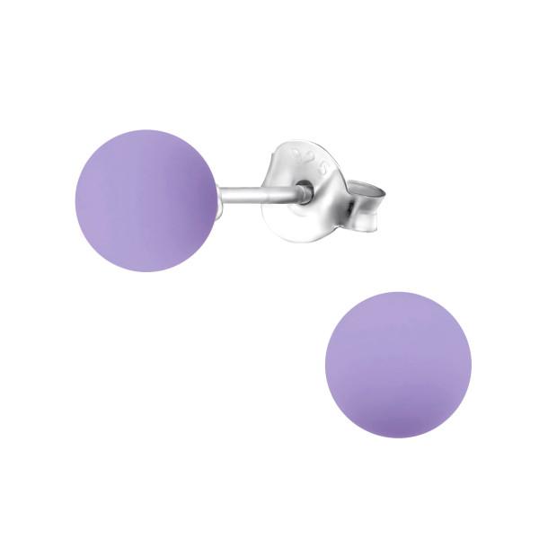 Pearl Ear Studs ES-APS1806-PP10-6/31177