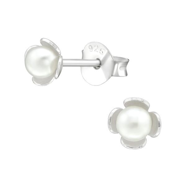 Pearl Ear Studs ES-APS2443-PPL3/38393