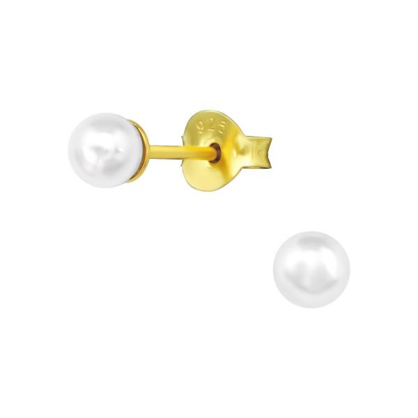 Pearl Ear Studs ES-JP3-PPL4 GP/39048