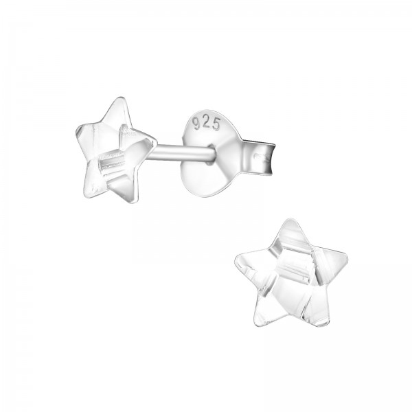 Plain Ear Studs ES-APS1406-FLAT-DC3/27316