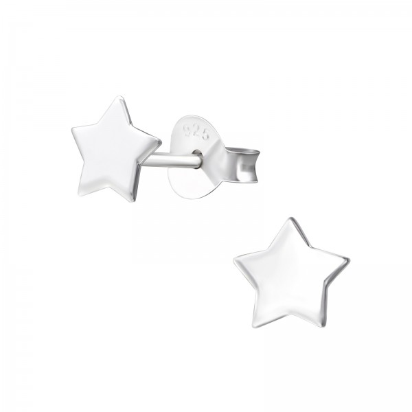 Plain Ear Studs ES-APS1406-FLAT/23491