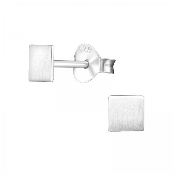 Plain Ear Studs ES-APS1407-FLAT-BR/27392