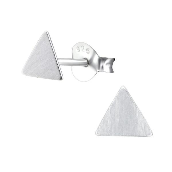 Plain Ear Studs ES-APS1500-FLAT-BR/27391