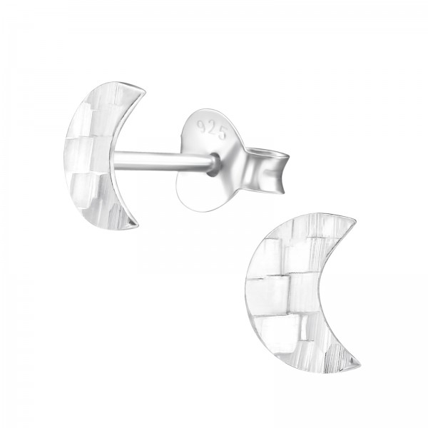 Plain Ear Studs ES-APS1502-FLAT-DC3/27350