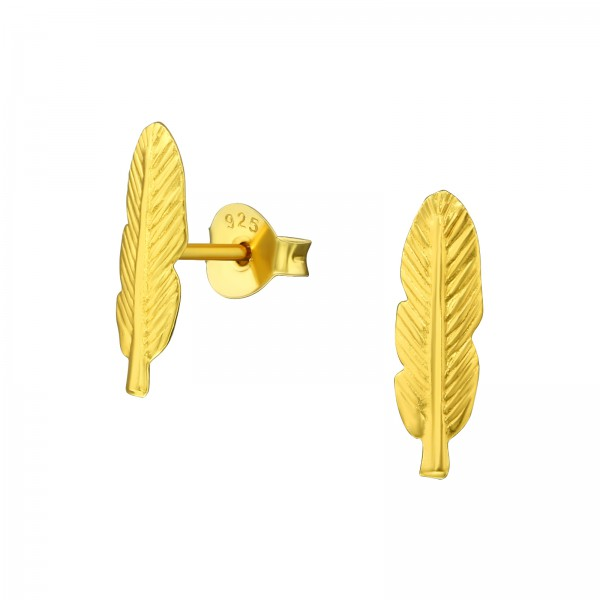 Plain Ear Studs ES-APS1612 GP/20866