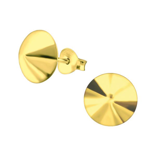 Plain Ear Studs ES-APS1656 GP/19044