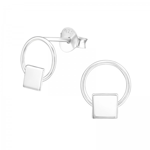 Plain Ear Studs ES-APS2143-0.7M-APS1407-FL/37751