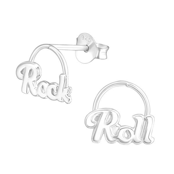 Plain Ear Studs ES-APS2143-0.7M-APS3095/37752