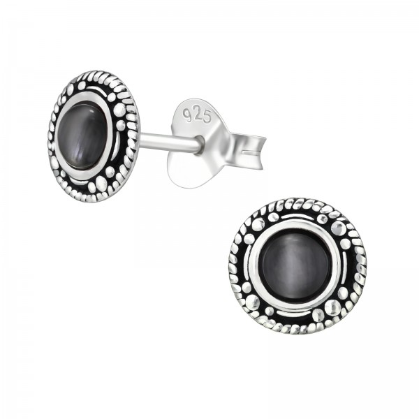 Plain Ear Studs ES-APS2445-CE OX/31232