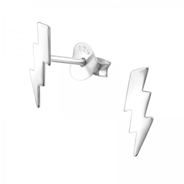 Plain Ear Studs ES-APS2523-FLAT/31934