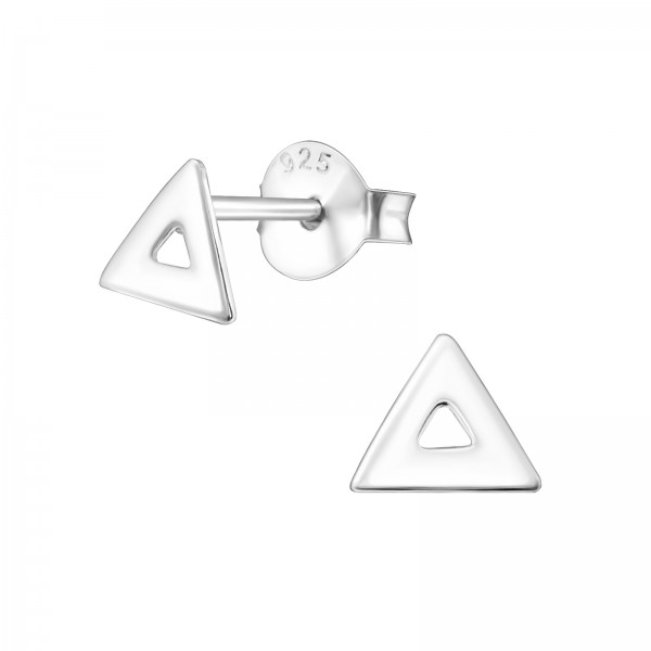 Plain Ear Studs ES-APS2604-FLAT/34639