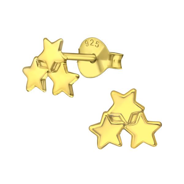 Plain Ear Studs ES-APS2693 GP/37749