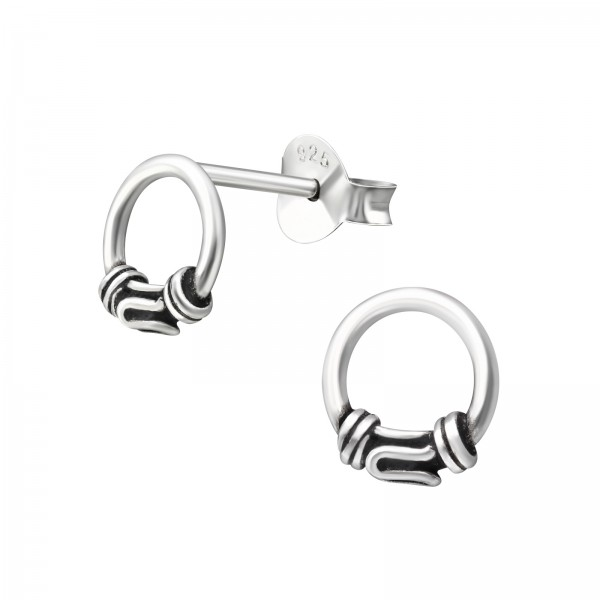 Plain Ear Studs ES-APS2858 OX/31515