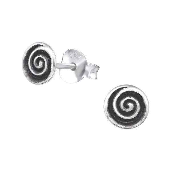 Plain Ear Studs ES-APS2870 OX/31317