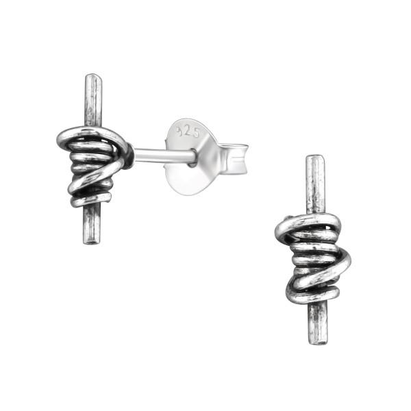 Plain Ear Studs ES-APS2948 OX/36957