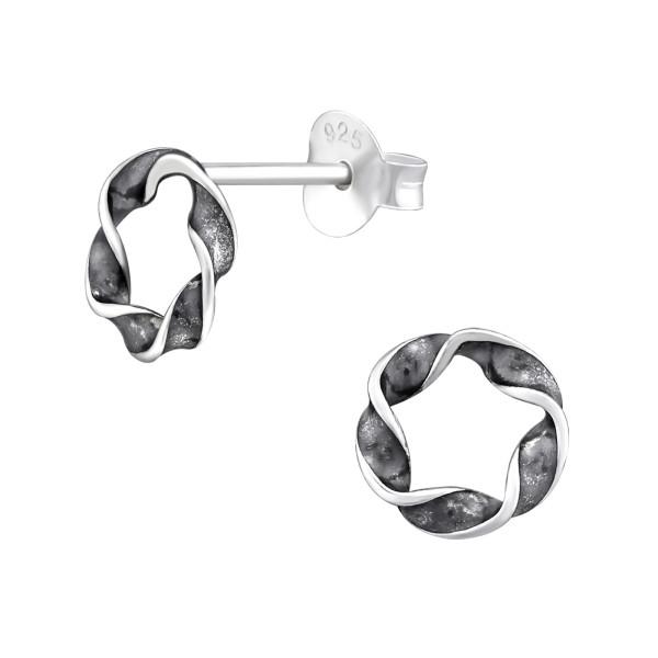 Plain Ear Studs ES-APS2974 OX/32124