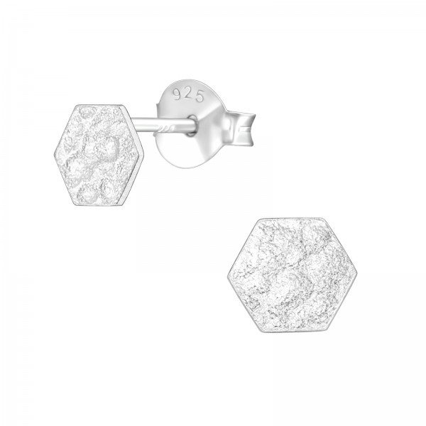 Plain Ear Studs ES-APS3292-B-0.5M-HAMMER/39577