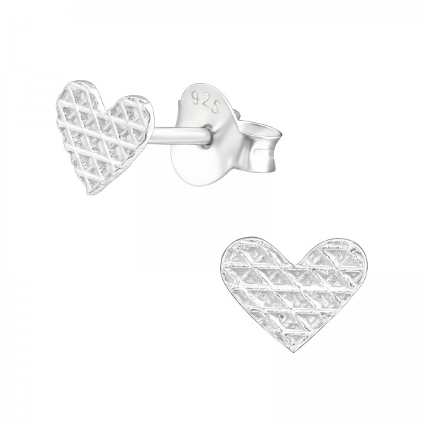 Plain Ear Studs ES-APS3294-B-PT-005/37133