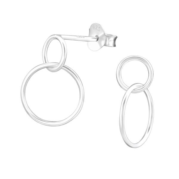 Plain Ear Studs ES-APS3316/36636