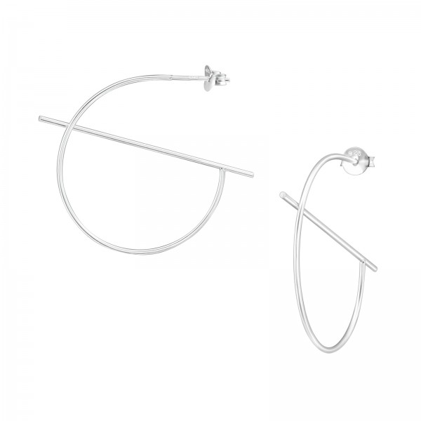 Plain Ear Studs ES-APS3530/38679