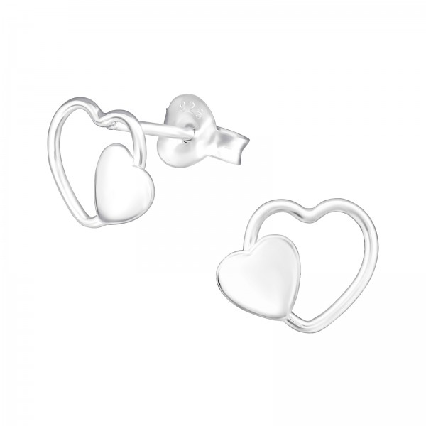 Plain Ear Studs ES-APS3577-APS1420-FL/36962