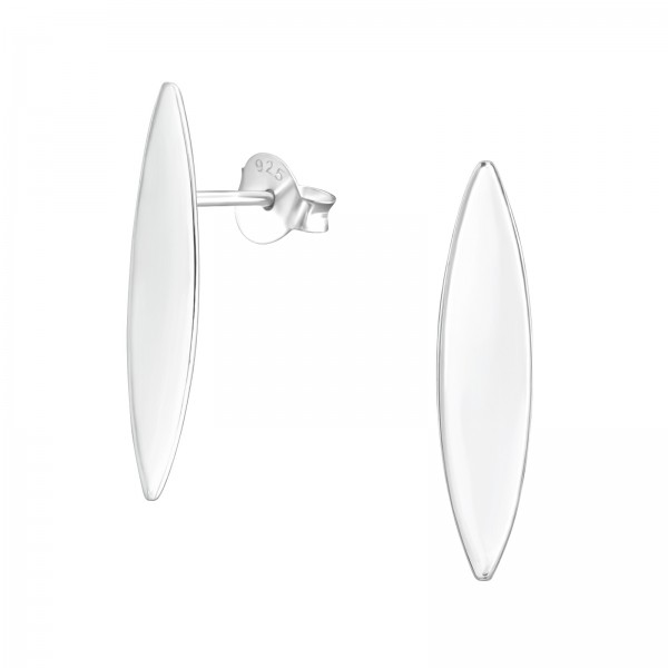 Plain Ear Studs ES-APS3666-FL/37747