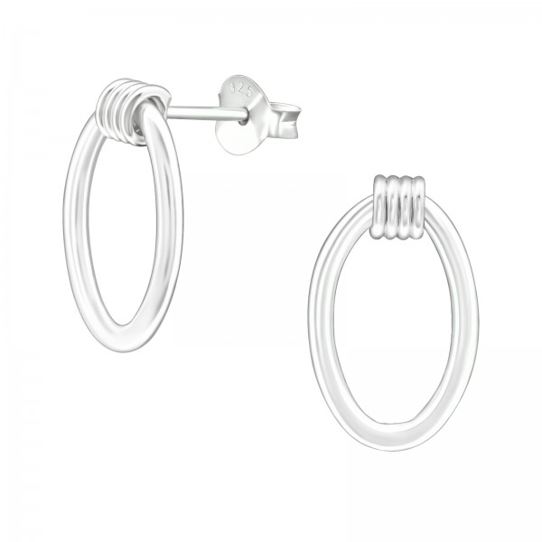 Plain Ear Studs ES-APS4105/38536