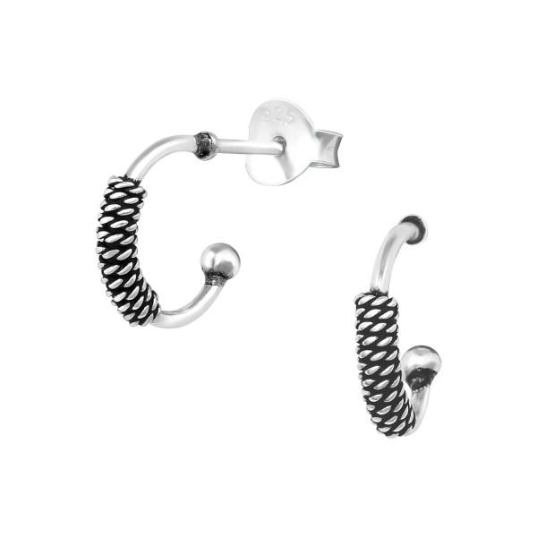 Plain Ear Studs ES-APS4161 OX/38645