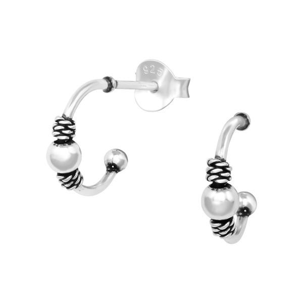 Plain Ear Studs ES-APS4163/38647