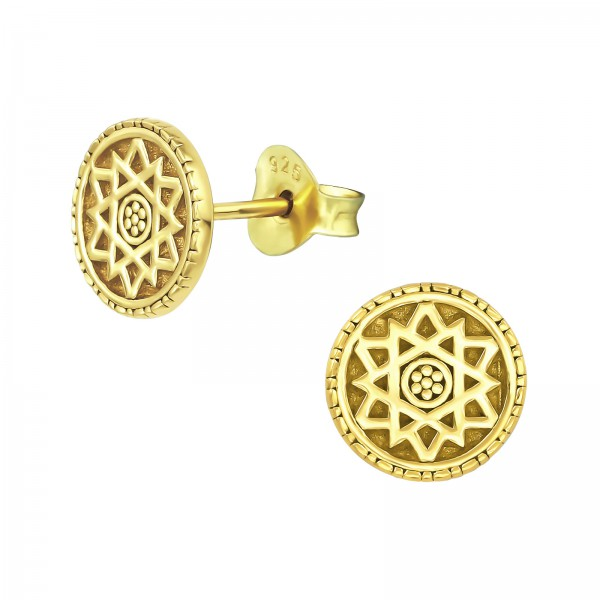 Plain Ear Studs ES-JB10678 GP/39151
