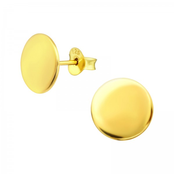 Plain Ear Studs ES-JB11237 GP/39306
