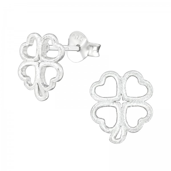 Plain Ear Studs ES-JB11560-SATIN/38682