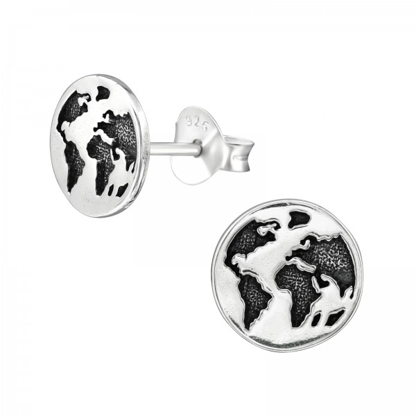 Plain Ear Studs ES-JB12141 OX/38629
