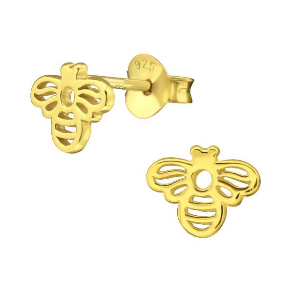 Plain Ear Studs ES-JB12251 GP/38408