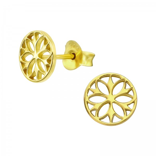 Plain Ear Studs ES-JB12934 GP/39304