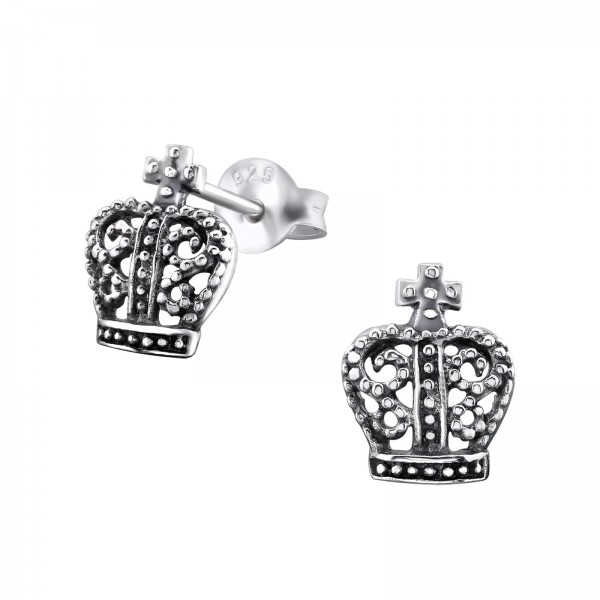 Plain Ear Studs ES-JB462 OX/29364