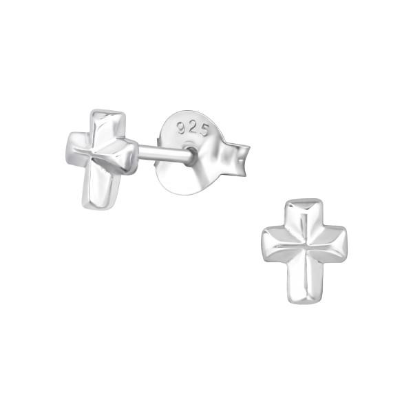 Plain Ear Studs ES-JB6183 SP/17842