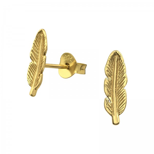 Plain Ear Studs ES-JB6222 GP/31750