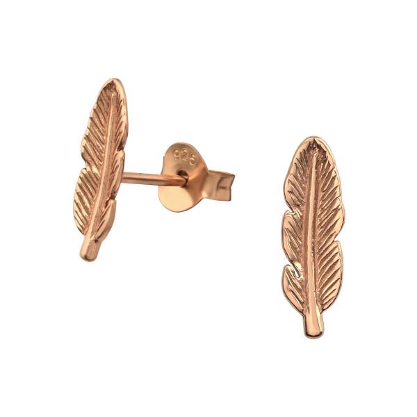 Plain Ear Studs ES-JB6222 RGP/35200