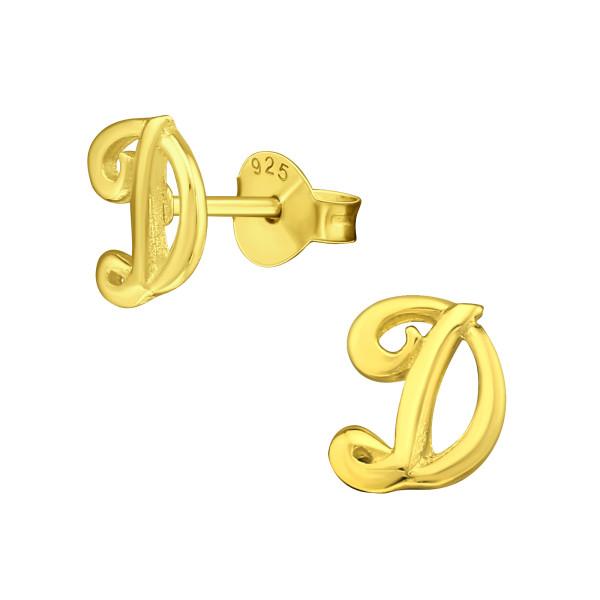 Plain Ear Studs ES-JB6759 GP/21484