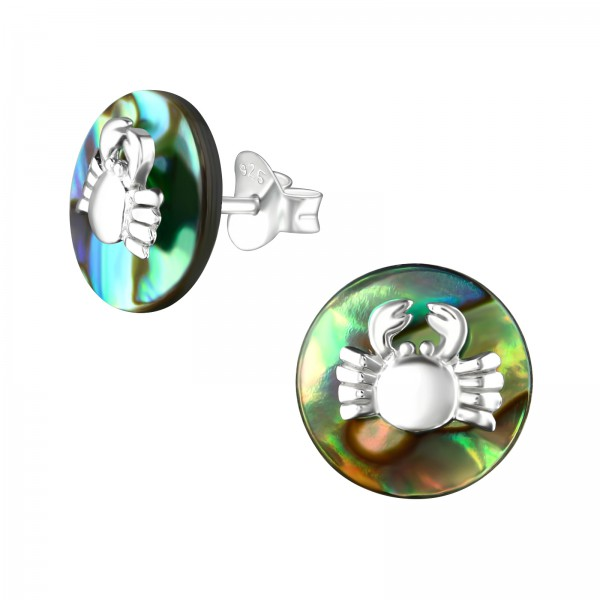 Plain Ear Studs ES-JB6844-BD-1831C-10-ABS/36767