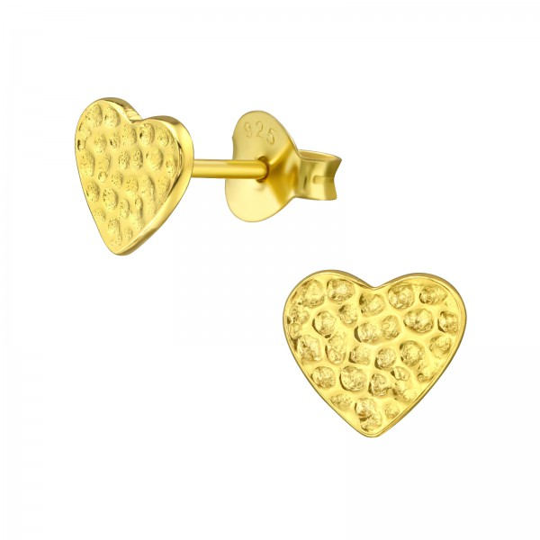 Plain Ear Studs ES-JB7077 GP/20953