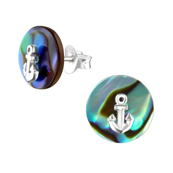 Plain Ear Studs ES-JB7092-BD-1831C-10-ABS/36770