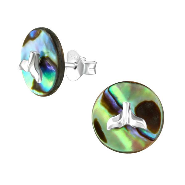 Plain Ear Studs ES-JB7094-BD-1831C-10-ABS/36769