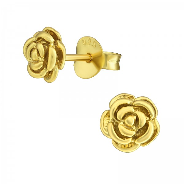 Plain Ear Studs ES-JB7728 GP/36687